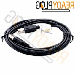 10 ft ReadyPlug USB Cable for Brother ScanNCut CM350 Electro