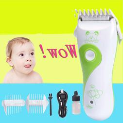Baby Hair Clippers Electric Safe Quiet Trimmer Child Silent