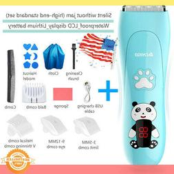 Baby Kids Hair Clippers Electric Safe Quiet Trimmer Child Si