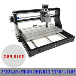 CNC 3018 Engraving Router& 0.5W Laser Module Carving Milling