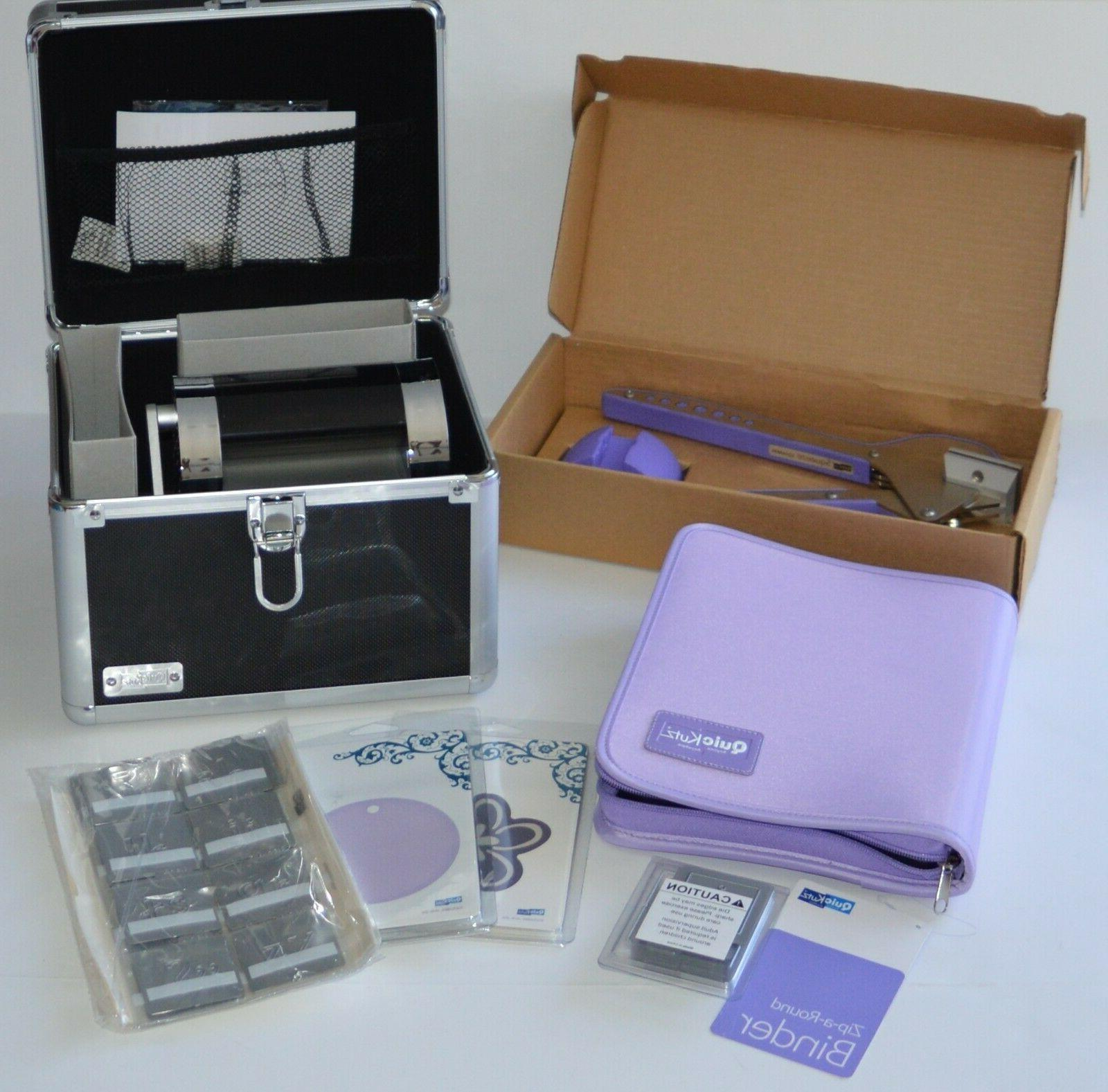 revolution tabletop die cutting machine with extras