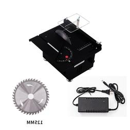 DC 24V Mini DIY Bench Table Saw for Woodworking Crafts Polis