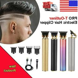 Ultra Quiet Professional Hair Clippers Trimmers Kit Hair Cut