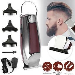 US Electric Hair Cutting Trimmer Clipper Shaver Barber Hairc